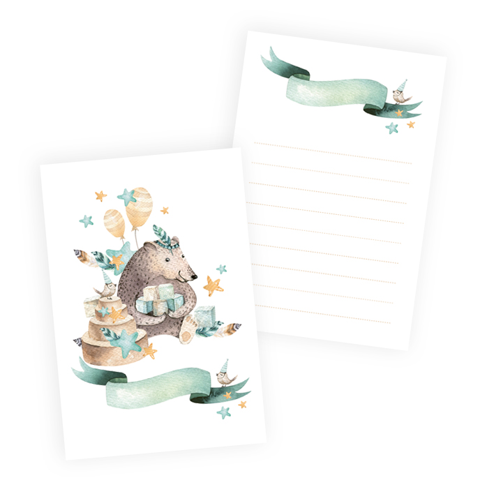 Set of cards Cute & Co. Boy