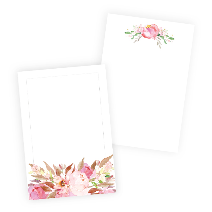 Set of cards Love in Bloom
