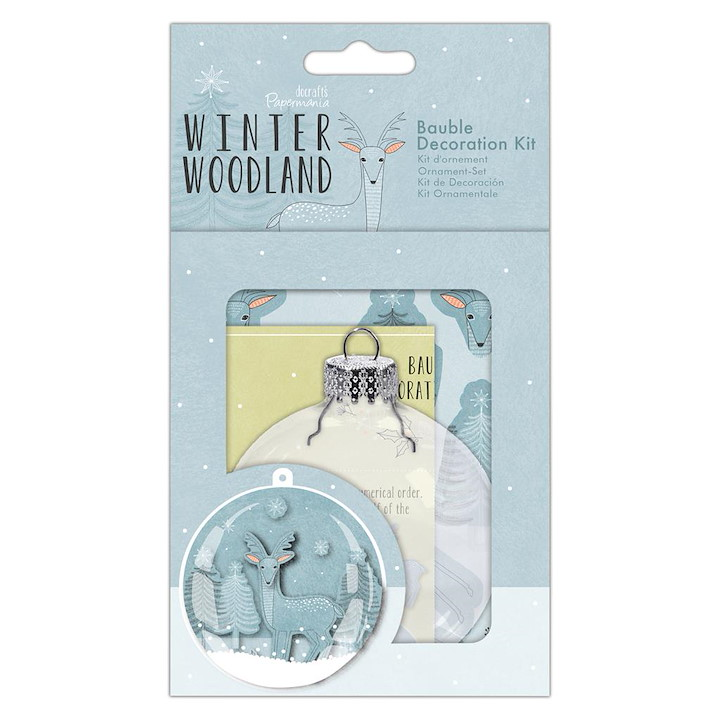 Bauble Decoration Kit - Winter Woodland
